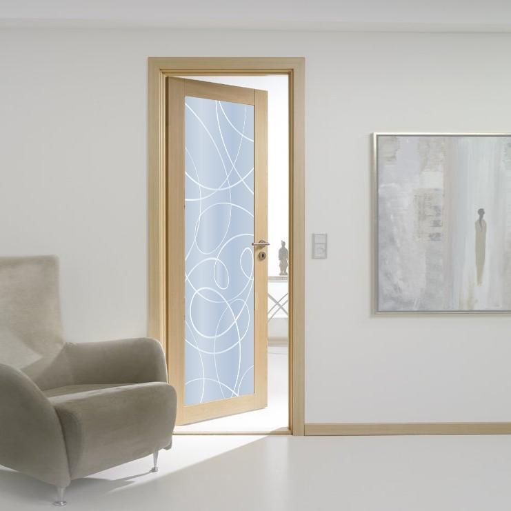 Porte filomuro o rasomuro in pronta consegna wooden door - Porte interne senza telaio ...